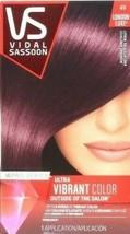 Vidal Sassoon Pro Series 4V London Luxe Midnight Amethyst Permanent Hair Dyes - $13.85