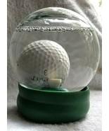 Water Globe Golf Ball Game GET THE BALL ON THE TEE Challenge LIFESAKE - $18.00