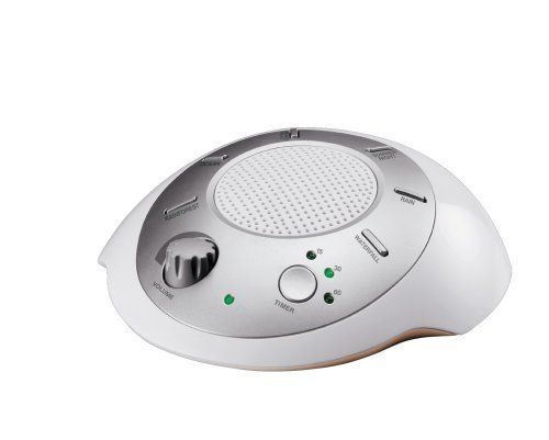 HoMedics (SS-2000) Sound Spa Portable Sound Relaxation Machine With Power Supply
