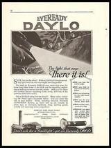 Eveready Daylo Flashlight 1917 Ad Hardware Tools Accessories Advert - $14.99