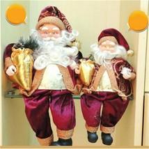 Christmas Claus Santa Vintage Ornament Figure Decoration Figurine Xmas G... - $19.22