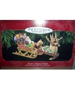 Hallmark Keepsake Ornament Santa's Magical Sleigh Artist's Studio Collec... - $16.00