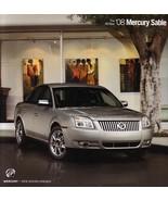 2008 Mercury SABLE sales brochure catalog US 08 Premier - $8.00
