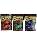Dove Whole Cherries, Whole Blueberries and Whole Cranberries Dipped in C... - $29.69