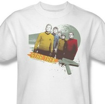 Star Trek Strange New World T-shirt retro sci-fi cotton Kirk Spock tee CBS351 image 2