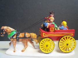 Dept 56 The Original Snow Village Hitch-up the Buckboard #54930-NEW IN BOX - $16.66