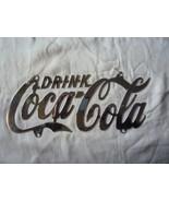 Coca Cola Chrome Plated License Plate - $14.00
