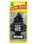 Little Trees Car Freshener Black Glaçon - $3.55