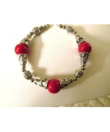 RED CORAL BRACELET that is adjustable - $3.50