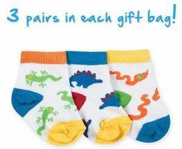 Newborn Boys Crawly 3 Pack Gift Bag 0-3 Months - $10.00