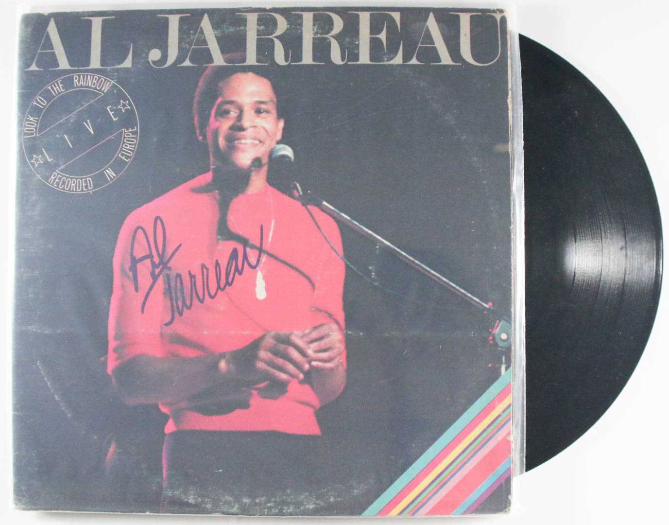 "Primary image for Al Jarreau Signed Autographed ""Live"" Record Album"