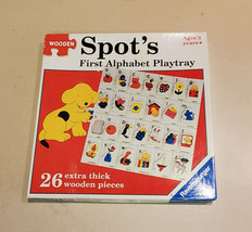 Ravensburger Spot's First Wooden Alphabet Playtray Extra Large - $9.85