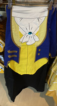 Disney Parks Beast Costume Chef Apron NEW Adult Size - $44.90