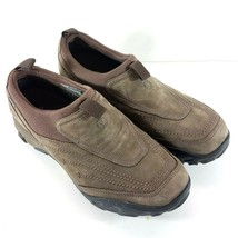 Merrell Womens Loafers Size 7.5 M Brown Suede Slip On Ortholite Waterpro... - $41.88