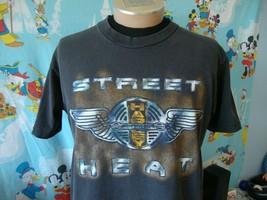 Vintage 90's Harley Davidson Motorcycle Street Heat Holoubek T Shirt L - $39.59