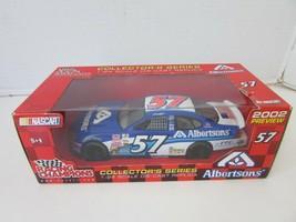 RACING CHAMPIONS 77253 2002 ALBERTSONS #57 DIECAST CAR 1/24 SCALE NIB S1 - $13.69