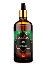 Zeitun 100% Pure Unrefined Cold Pressed Hemp Oil 3.4 oz - $21.78