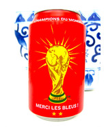 Coca Cola Coke Aluminum Can France World Cup Champion FIFA 2018 - $24.74