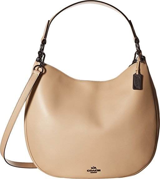 Primary image for Coach 36026 Nomad Hobo Beige Leather Ladies Purse