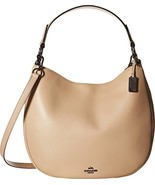 Coach 36026 Nomad Hobo Beige Leather Ladies Purse - $349.00