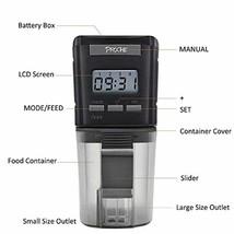 Adjustable Automatic Fish Food Feeder Dispenser Aquarium Tank Digital LC... - $40.90