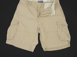 NEW! NWT! Polo Ralph Lauren Classic Gellar Fatigue Cargo Shorts!  29 30  *Tan* - $49.99