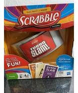 NIB Scrabble Turbo Slam Electronic Hasbro Card Game Family Game Night Fu... - $14.01