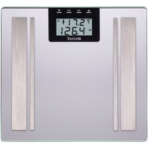 Taylor(R) Precision Products 57364102F Body Fat Digital Scale (Silver) - $55.42