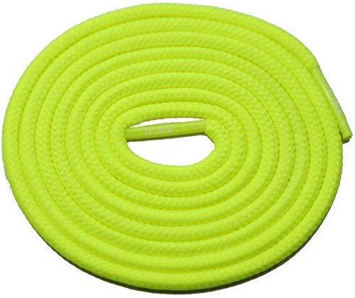 "Primary image for 54"" NEON-YELLOW 3/16 Round Thick Shoelace For All Football Shoes"