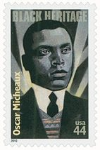 2010 Black Heritage Oscar Micheaux Sheet of 20 US Stamps Catalog 4464 MNH image 3