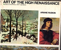 "Art Of The High Renaissance ""Discovering Art Series"" by Arianr Ruskin - $5.95"