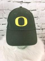 Nike Oregon Ducks Hat Cap Strap Back U Of O Green Yellow - $19.79