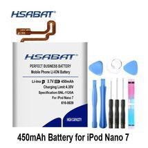 HSABAT 616-0639 450mAh Battery for Apple iPod Nano 7th 7 Gen Batteries - $18.02