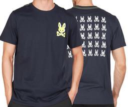 Men's Psycho Bunny Graphic Shirt Hatton 2 Sided Digital Pixel Logo T-shirt XS image 1