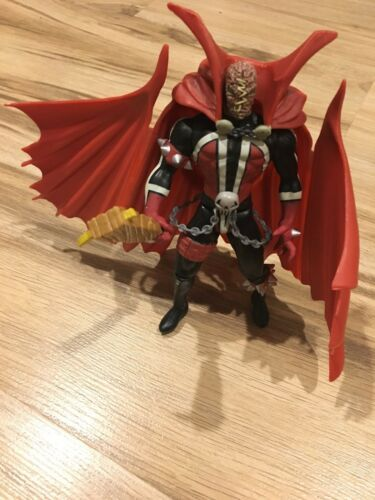 McFarlane Spawn Flying Removable Cape Action Figure 1994 Unmasked Comic Hero