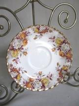 ROYAL ALBERT  Lenora - Montrose Shape - Roses - SAUCER - $8.95