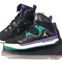 Nike Black Air Jordan Flight TR 97 Kids Basketball Sneakers - $39.60