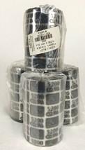 LOT of 4 Zebra 800011-004 Thermal Transfer Ribbon 110mm x 362m 4.30 in x 1188 ft - $35.63