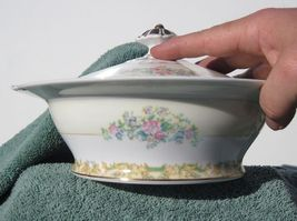 Noritake Atesia Covered Vegetable Bowl  Vintage... - $49.95