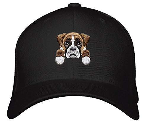Cute Dog Face Hat - Choose Your Breed! (Boxer)