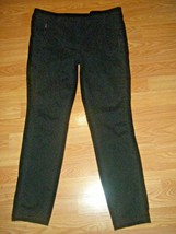 ANN TAYLOR LOFT BLACK STRETCH SKINNY DRESS PANTS SIZE 10 - $38.69