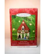 Hallmark: Service Station - 2001 Nostalgic Houses & Shops Keepsake Ornament - $17.71