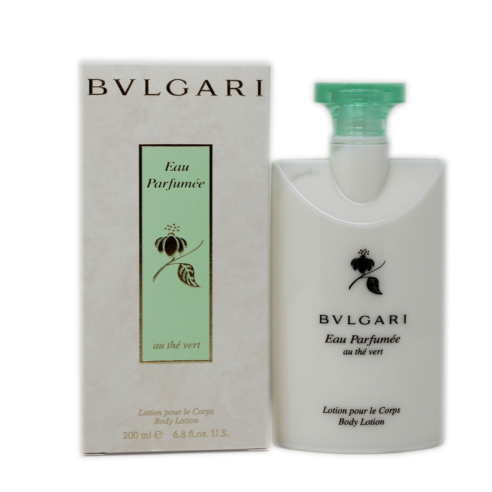Primary image for BVLGARI EAU PARFUMEE AU THE VERT BODY LOTION 200 ML/6.8 FL.OZ. NIB-BV10036772
