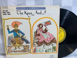 THE KING AND I Rodgers & Hammerstein's Soloists Orchestra LP Record Albu... - $270,50 MXN
