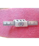 VFW tie clasp with mason rule and cement block - $8.00