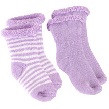 Kushies Terry Newborn Socks 2 Pack Green - $6.00