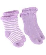 Kushies Terry Newborn Socks 2 Pack Green - $6.00