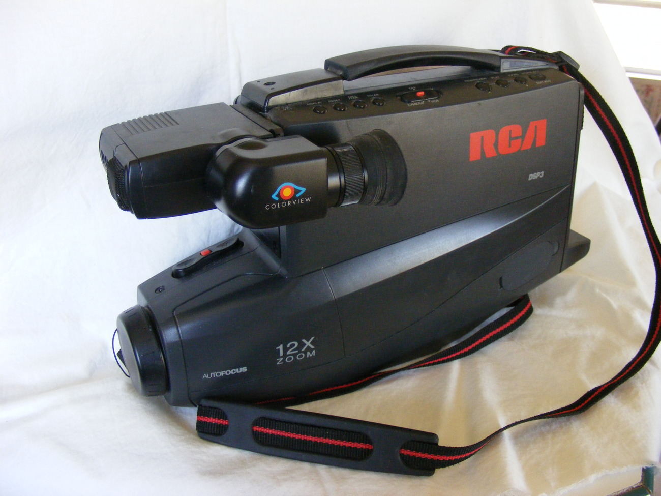 Rca Vhs Camcorder Dsp3 Cc431 12x Zoom