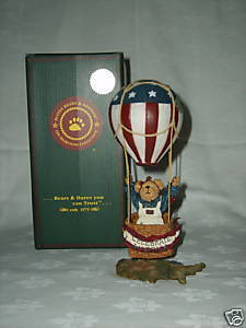 Primary image for BOYDS BEARSTONE BETSY B BEARAMERICA NIB MINT Event RETNew in Box