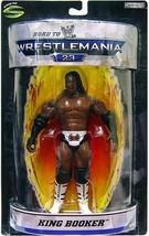 King Booker WWE Road to Wrestlemania 23 Action Figure NIB WWF Wrestling Booker T - $59.39
